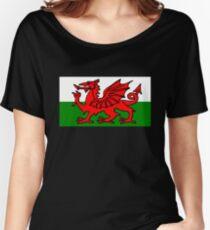 Welsh Flag Women's Relaxed Fit T-Shirt