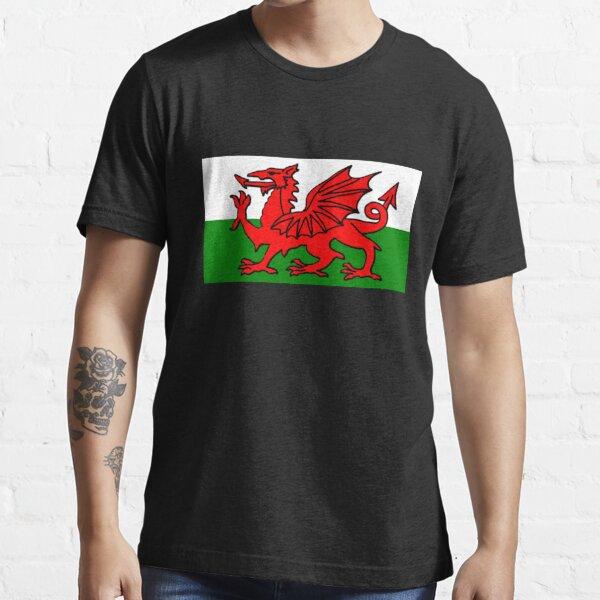 Welsh Flag Essential T-Shirt