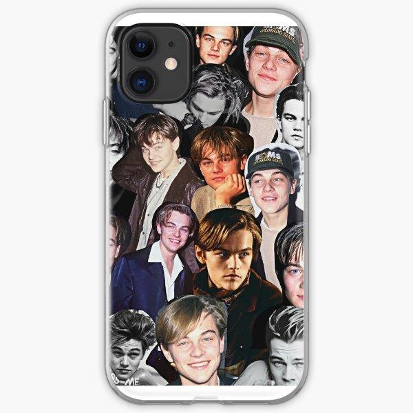Leonardo Dicaprio Collage iPhone Soft Case