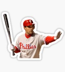 Pat Burrell of the Phillies Sticker