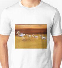Ducklings following Mum T-Shirt
