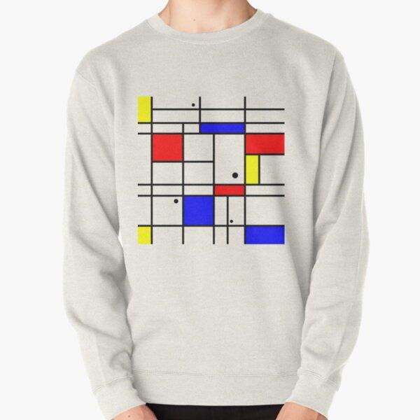 Mondrian style art Pullover Sweatshirt