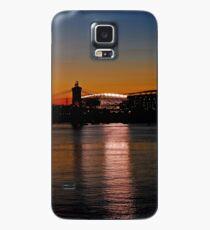 Sunset on Paul Brown Stadium Case/Skin for Samsung Galaxy