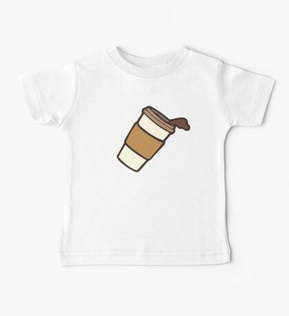 Take it Away Coffee Pattern Kids Clothes