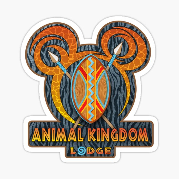 Animal Kingdom Lodge Sticker