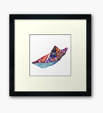 Tin Boat  Framed Print