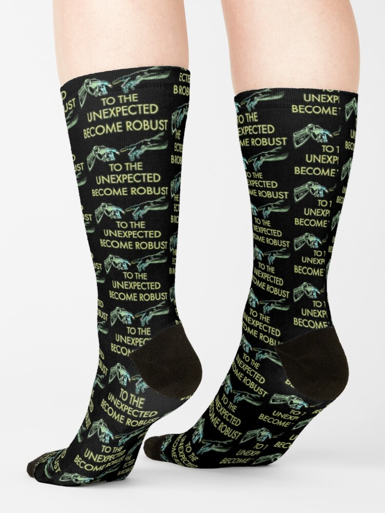 Alternate view of Become Robust. Socks