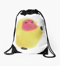 Lutino Lovebird Bean Drawstring Bag