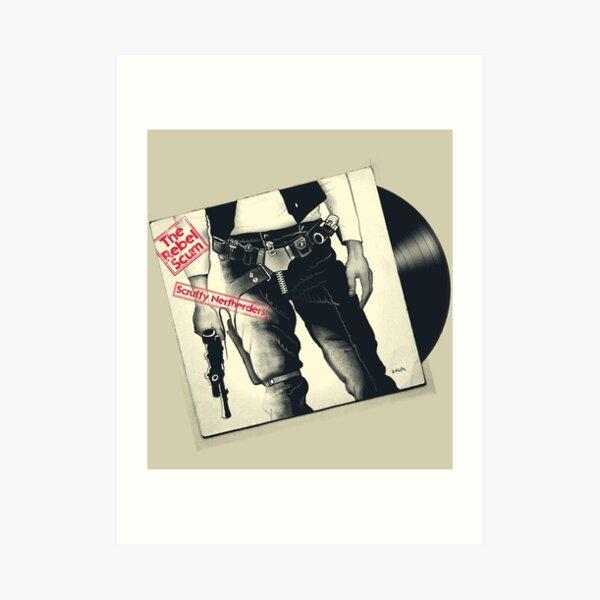 The Rebel Scum Sticky Tunes Art Print