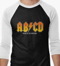 AB/CD : BACK IN BOOK Men's Baseball ¾ T-Shirt