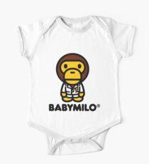Baby Milo a Bathing Ape One Piece - Short Sleeve