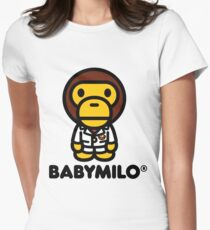 Baby Milo a Bathing Ape Womens Fitted T-Shirt