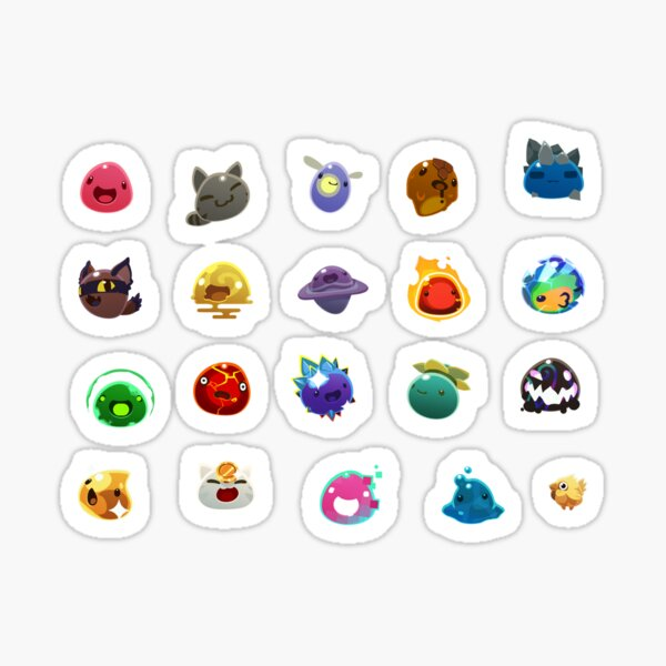 Slime Rancher Stickers Set Pack  Glossy Sticker