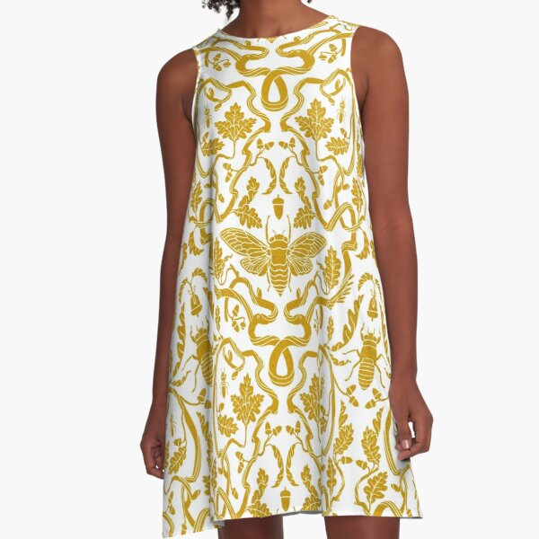 Cicada Oak  A-Line Dress