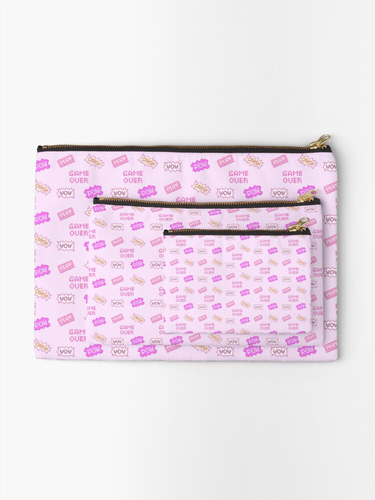 Alternate view of Game Over  Zipper Pouch