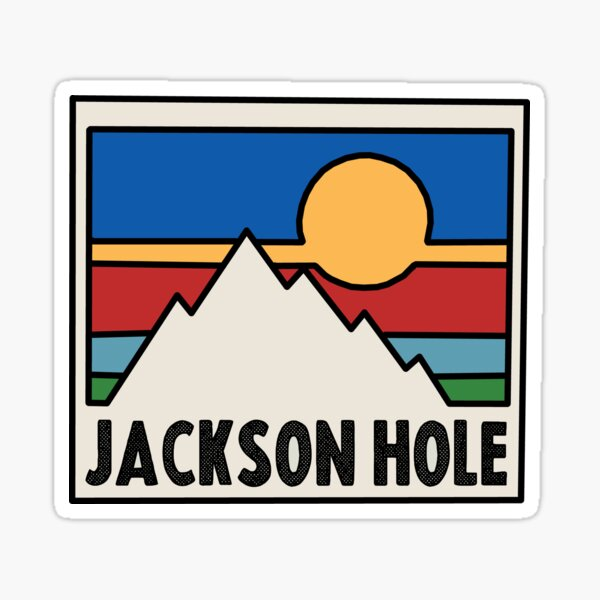 Jackson Hole, Wyoming Decal Sticker