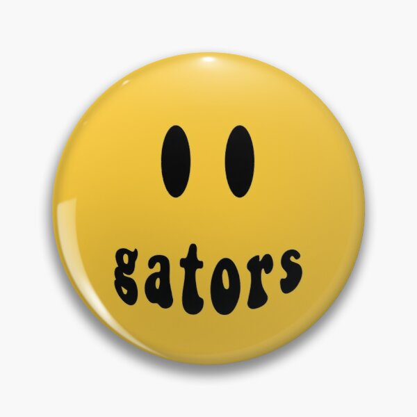 GATORS SMILEY Pin