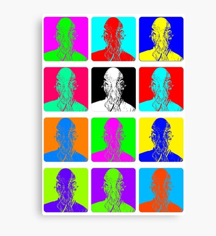Doctor Who - Andy Warhol (Ood) Canvas Print