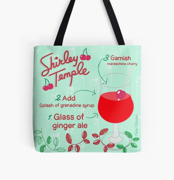 Shirley Temple All Over Print Tote Bag