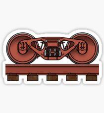Railroad Truck/Railway Bogie Sticker