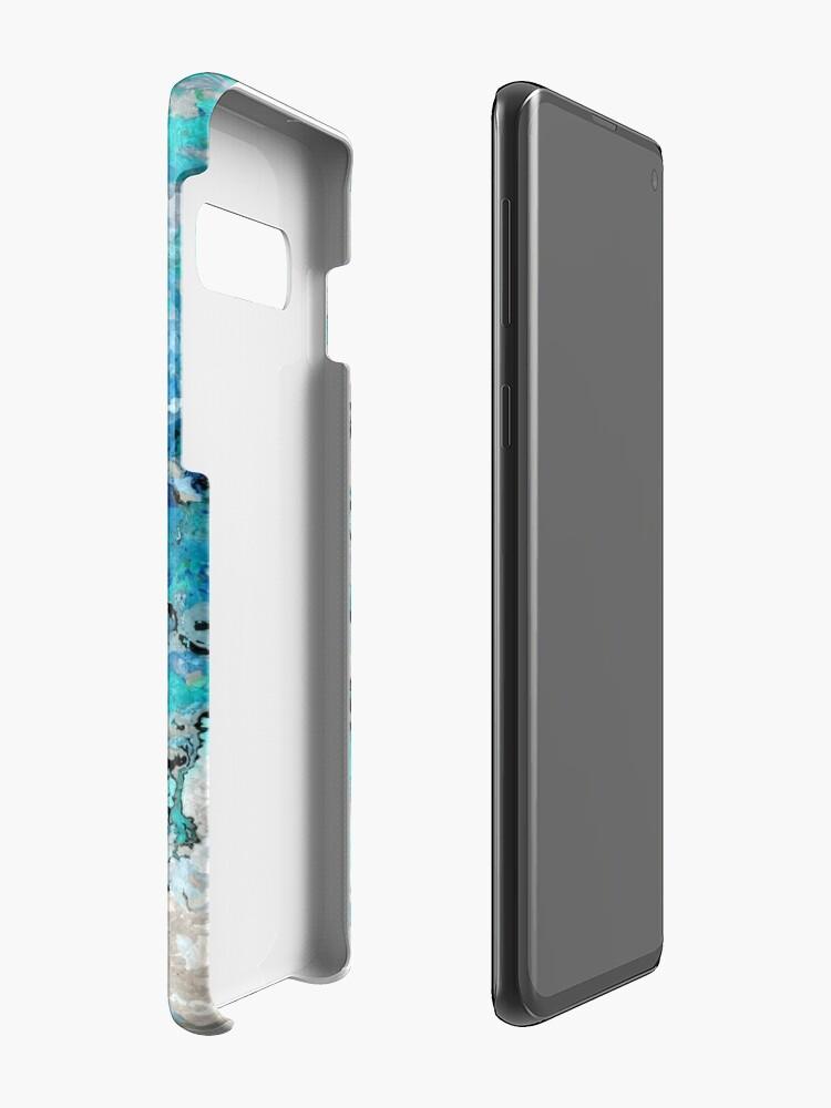 Alternative Ansicht von Marmor Kunst V7 Hüllen & Klebefolien für Samsung Galaxy