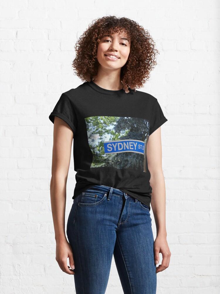 Alternate view of Sydney, Sydney magnet, Sydney sticker  Classic T-Shirt