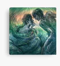 Consort of the Serpent King Canvas Print