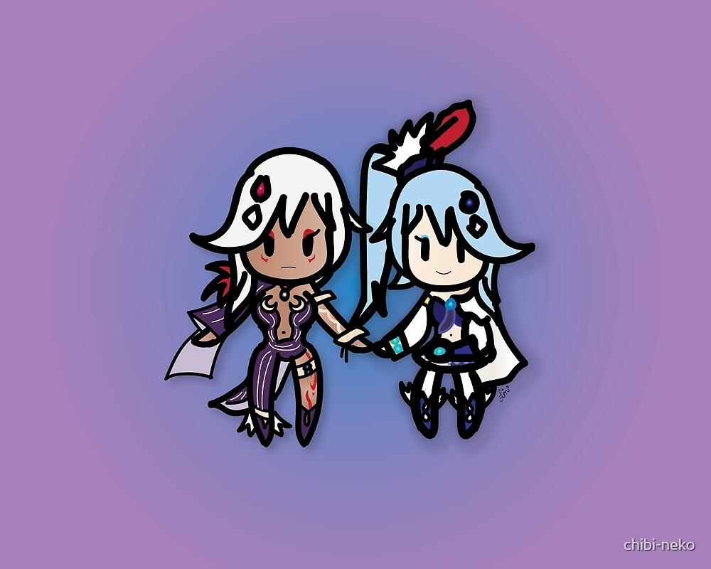 Lana and Cia by chibi-neko