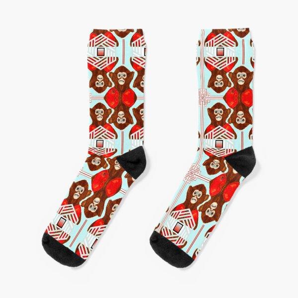 Fighter Monkey 2.0 Socks