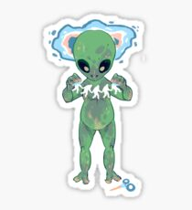 Alien Craft Sticker