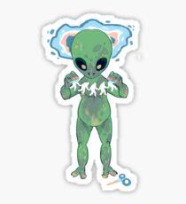 Alien Craft Sticker