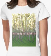 Birch Grove Women's Fitted T-Shirt