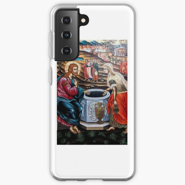 The Samaritan Woman - Jacobs Well  Samsung Galaxy Soft Case