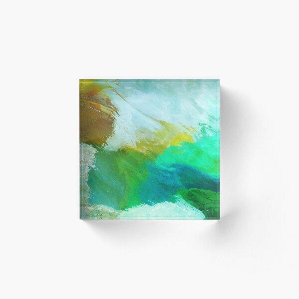 Pastel Serenity Acrylic Block