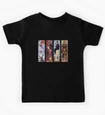 Haunted mansion all character Kids Tee