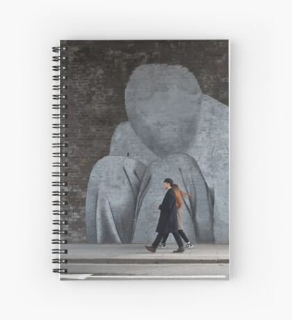 Faceless Striders Spiral Notebook