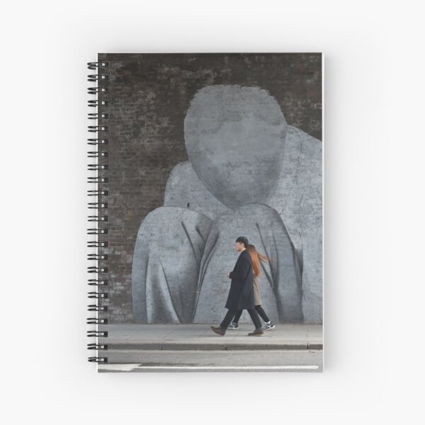 Faceless Striders Spiral Notebook