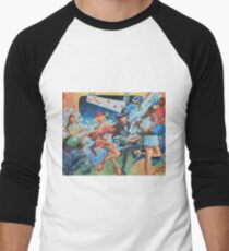 subway Men's Baseball ¾ T-Shirt