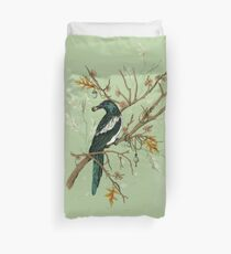 Magpie Birds Duvet Cover