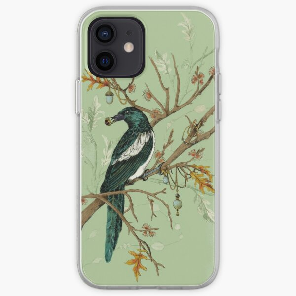 Magpie Birds iPhone Soft Case