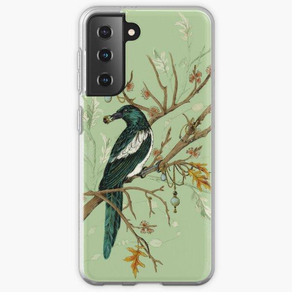 Magpie Birds Samsung Galaxy Soft Case