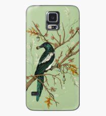 Funda/vinilo para Samsung Galaxy Magpie Birds