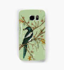 Magpie Birds Samsung Galaxy Case/Skin