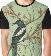Magpie Birds Graphic T-Shirt