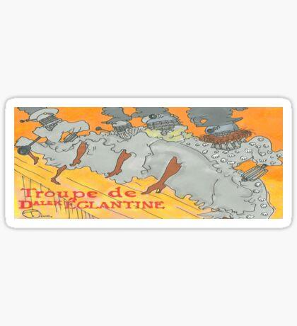 TROUPE DE DALEK Sticker