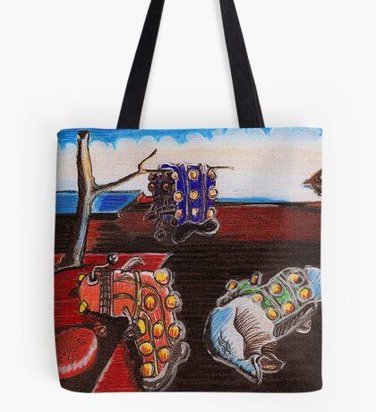 Salvador Dalek Tote Bag
