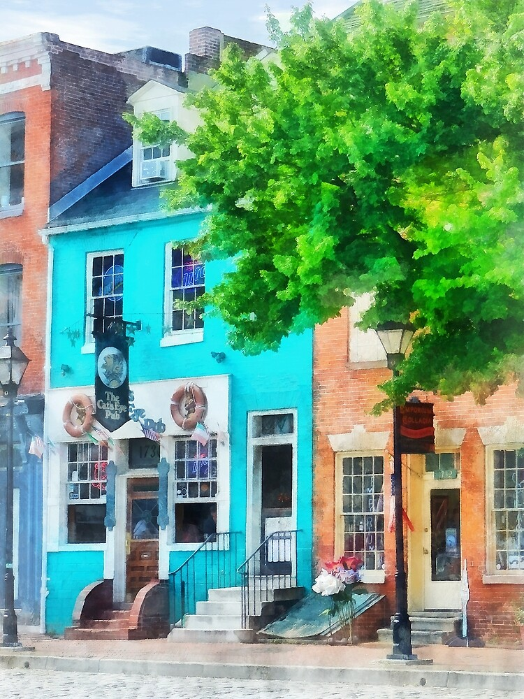 Baltimore MD - Neighborhood Pub Fells Point by Susan Savad