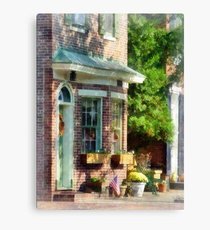 New Castle DE Sunny Afternoon Canvas Print