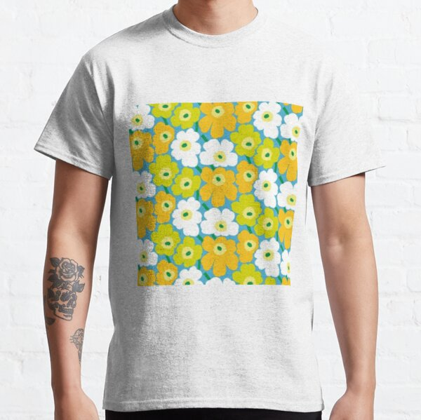 Flower colorful design Classic T-Shirt