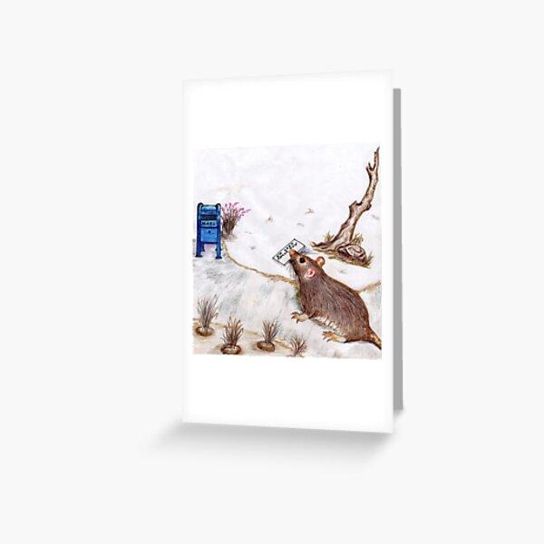Mailbox Molly Book Cover Artwork Greeting Card